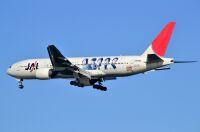 ニュース画像 2枚目:「嵐ジェット 2010」 JA8982  ボーイング777-200型機  (ちかぼーさん撮影)