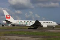 ニュース画像 4枚目:「嵐ジェット 2011」 JA772J  ボーイング777-200型機  (speedbirdさん撮影)