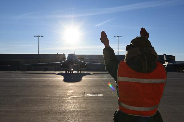 ニュース画像 1枚目:エルスワース空軍基地でのB-1Bランサー