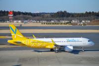 ニュース画像:バニラエア塗装のA320が里帰り 12月11日に関空到着