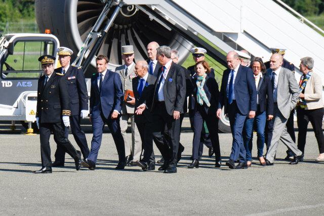 ニュース画像 1枚目:マクロン大統領、2019年の開会式に出席