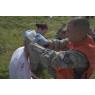 ニュース画像 4枚目:負傷者はリアルにペイントし、訓練に臨場感を与える