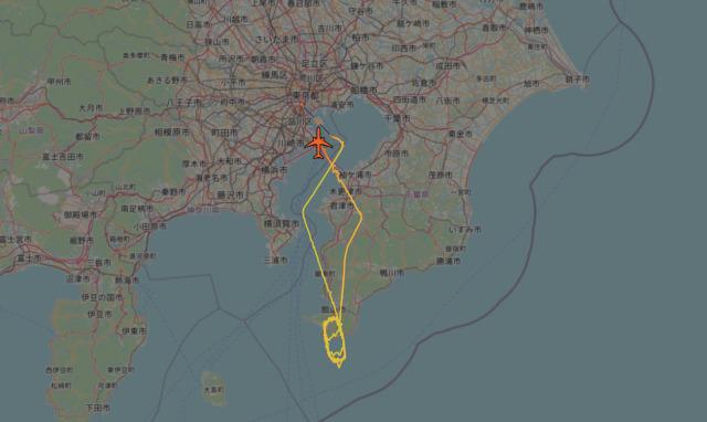 ニュース画像 1枚目:JA8944 2020年12月8日(火)、JAL921便の航路イメージ