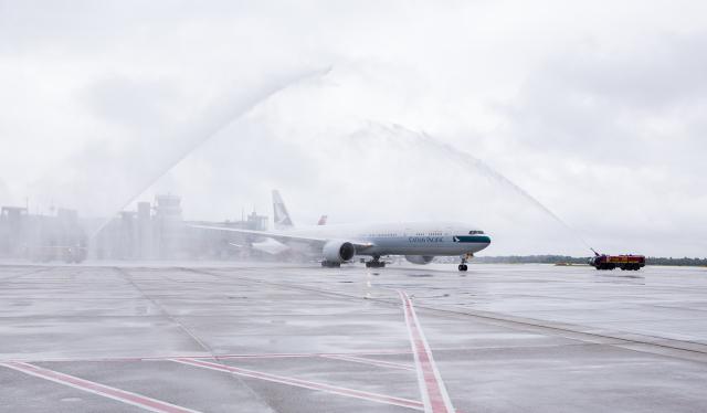 ニュース画像 1枚目:キャセイパシフィック航空、デュッセルドルフに就航