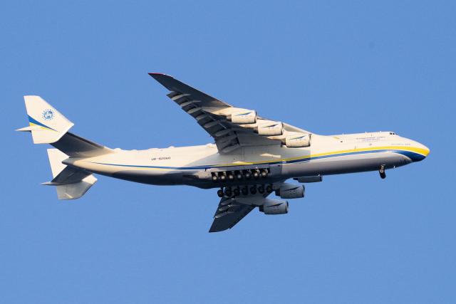 ニュース画像 1枚目:An-225ムーリヤ イメージ (yabyanさん撮影)