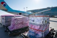 ニュース画像:大韓航空、新型コロナワクチン原料をアムステルダムに極低温輸送
