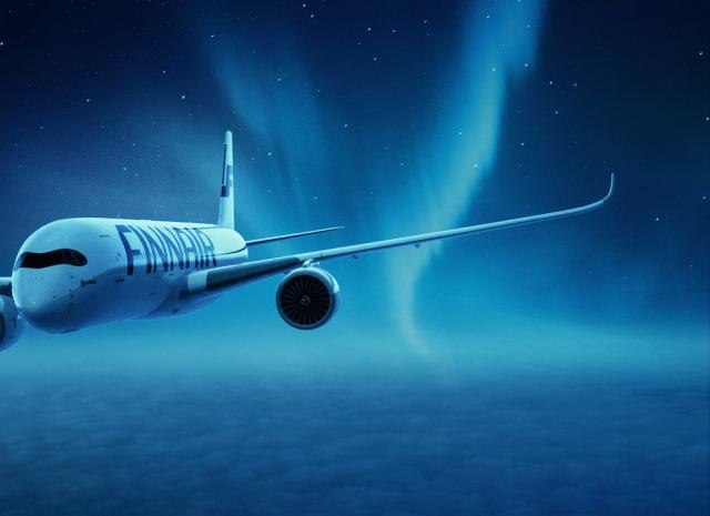 ニュース画像 1枚目:A350のバーチャル・フライト イメージ