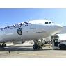 ニュース画像 2枚目:機体前方にオークランド・レイダースのロゴを施す