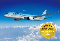 ニュース画像:大韓航空、スカイトラックスの世界最高評価「5スター」獲得