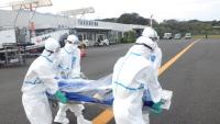 陸自と海自、鹿児島県内の新型コロナウイルス患者空輸に対応の画像