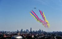 ニュース画像:抗日戦争勝利70周年、中国独自開発の無人機 翼竜もパレードに参加