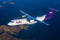 ニュース画像:フェデックス・エクスプレス、ATR初の貨物専用機を受領