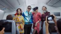 ニュース画像:デルタ、ファッションショー風の客室紹介広告で優秀作品賞