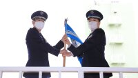 ニュース画像 4枚目:301飛行隊 隊旗返還式