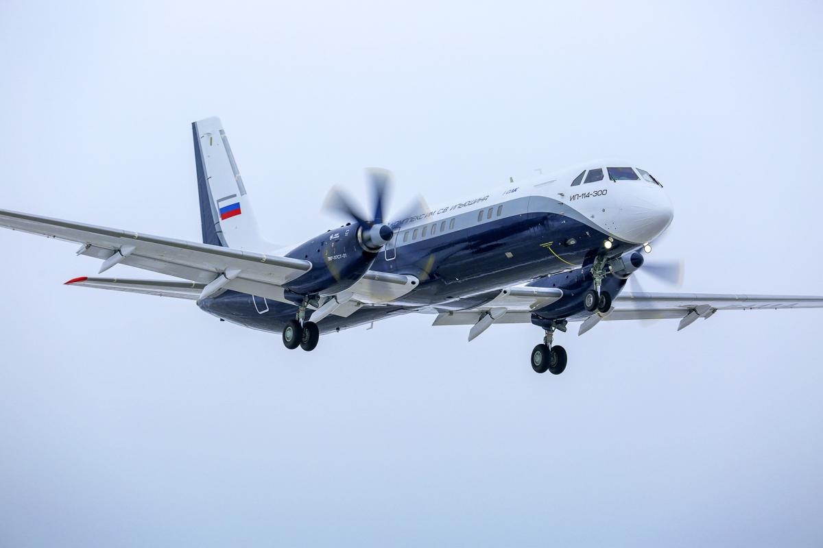 ニュース画像 1枚目:IL-114-300 リージョナル ターボプロップ機