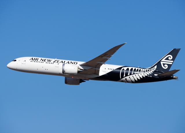 ニュース画像 1枚目:ニュージーランド航空 イメージ (goldengoldsさん撮影)