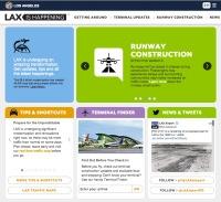 ニュース画像:ロサンゼルス国際空港、改修中でも分かりやすい情報をウェブサイトで提供