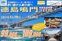 ニュース画像:JAL 青森発チャーター便、徳島行きツアー販売中