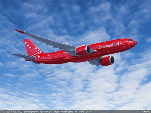 ニュース画像 1枚目:エア・グリーンランド A330neo イメージ