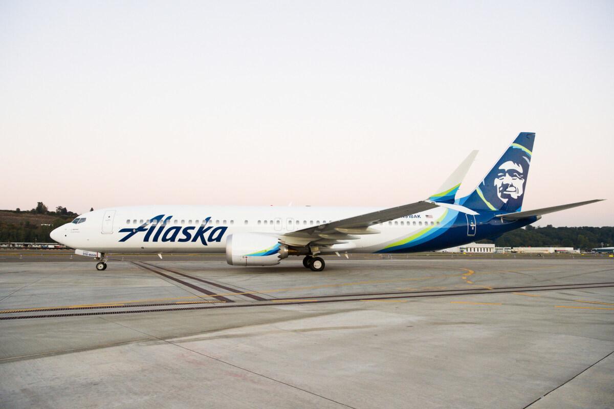 ニュース画像 1枚目:アラスカ航空に近く引き渡しされる737 MAX 「N918AK」
