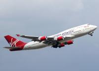 ヴァージン・アトランティック、最後の747がピナル空港に到着の画像