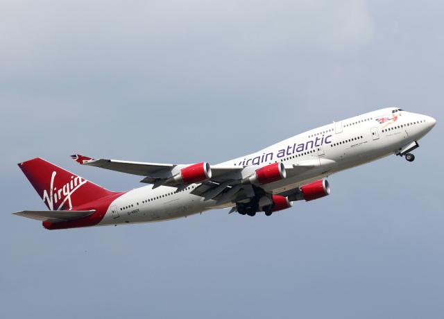 ニュース画像 1枚目:運航していた当時のヴァージン・アトランティック航空 747 (voyagerさん撮影)