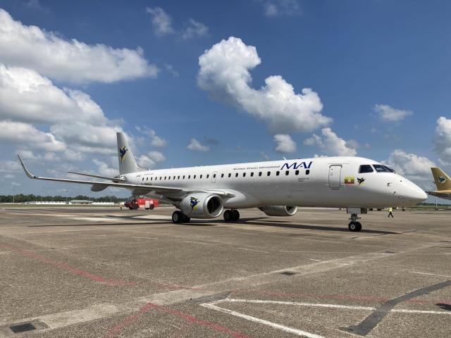 ニュース画像 1枚目:ミャンマー国際航空 エンブラエル190