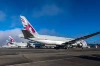 ニュース画像:777F、200機目引き渡し カタール航空カーゴが3機受領