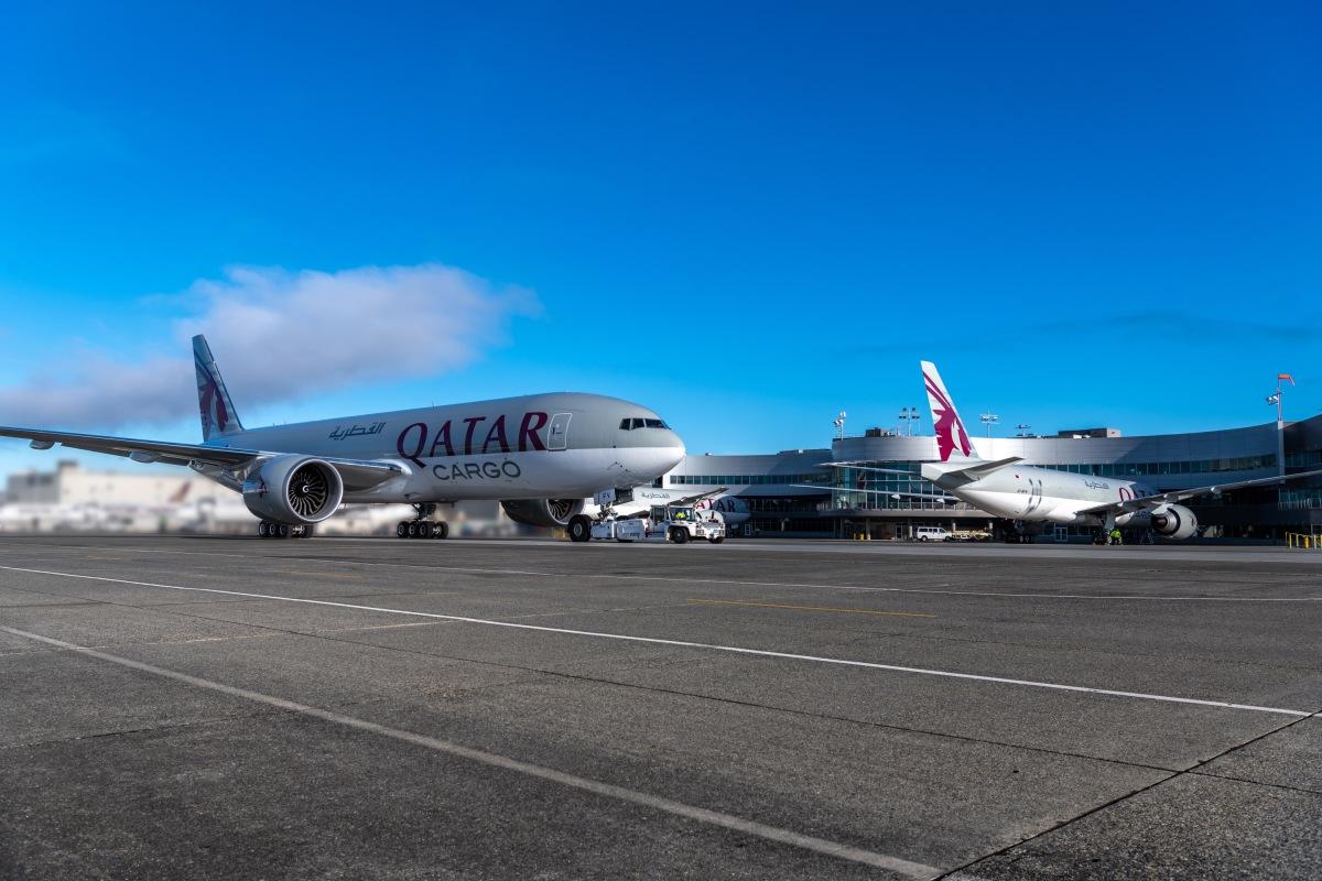 ニュース画像 2枚目:カタール航空 777F