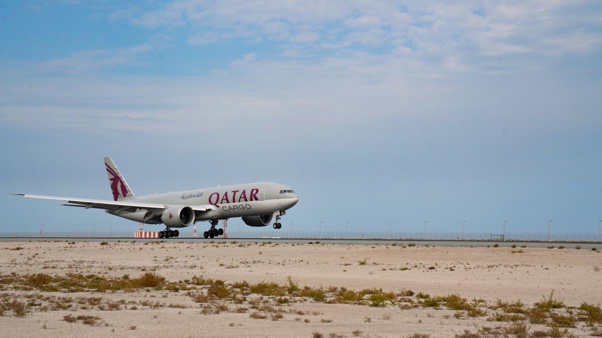 ニュース画像 5枚目:カタール航空 777F
