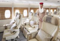 エミレーツ航空、新プレミアムエコノミー搭載A380 運航開始の画像