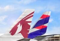 ニュース画像:カタール航空とラタム・エアラインズ・ブラジル、コードシェア拡大