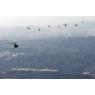 ニュース画像 1枚目:2020年の航空隊年始編隊飛行訓練
