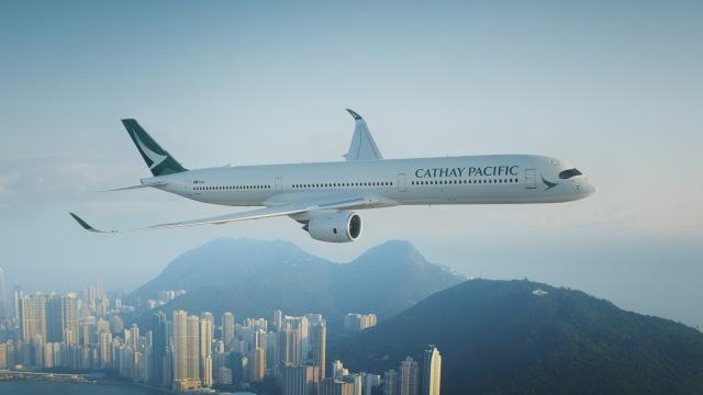 ニュース画像 1枚目:キャセイパシフィック航空 A350 イメージ