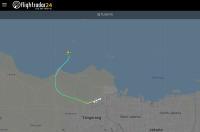 ニュース画像:スリウィジャヤ航空、SJ182便レーダー消失 墜落か
