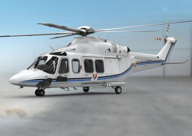 ニュース画像 1枚目:コロンビア大統領専用ヘリコプター AW139 イメージ