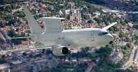イギリス空軍向け737AEW&C、初号機がバーミンガム到着の画像