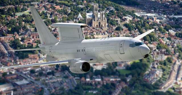 ニュース画像 1枚目:イギリス空軍ウェッジテイルAEW Mk1偵察機 イメージ