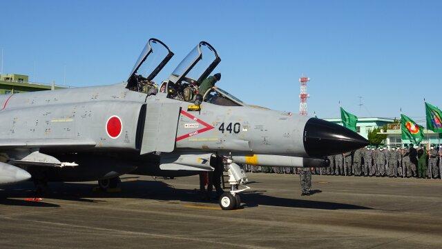ニュース画像 1枚目:浜松基地に到着したF-4EJ改 17-8440