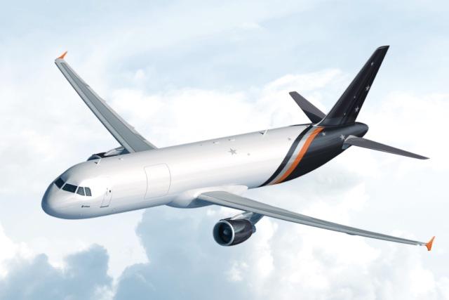 ニュース画像 1枚目:タイタン・エアウェイズ A321P2F イメージ