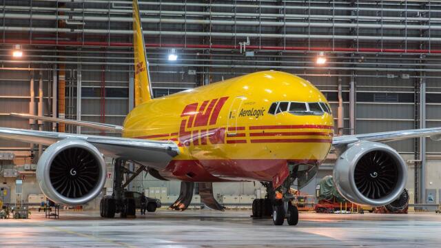 ニュース画像 1枚目:DHL塗装777F