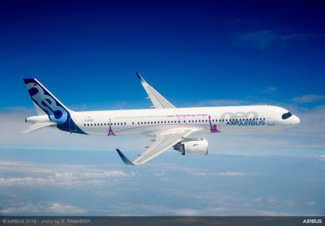 ニュース画像 1枚目:A321LR イメージ
