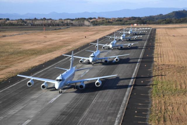ニュース画像 1枚目:鹿屋航空基地のP-1哨戒機
