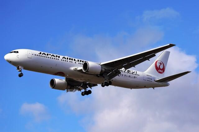 ニュース画像 1枚目:JAL ボーイング767-300型機イメージ(hidetsuguさん撮影)