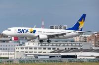 スカイマーク、2月前半 減便率72%に拡大の画像