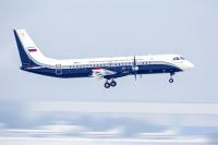 ロシアで開発中のIL-114-300、1カ月ぶりの試験飛行の画像