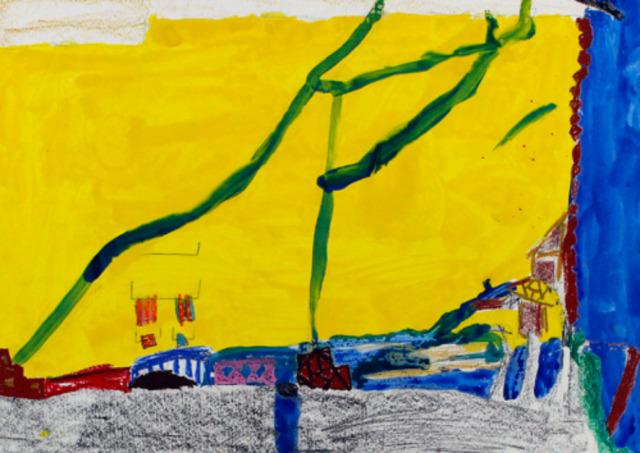 ニュース画像 1枚目:第19回優秀賞の1作品 「黄色い空の街」ふなこしやまとさん作品
