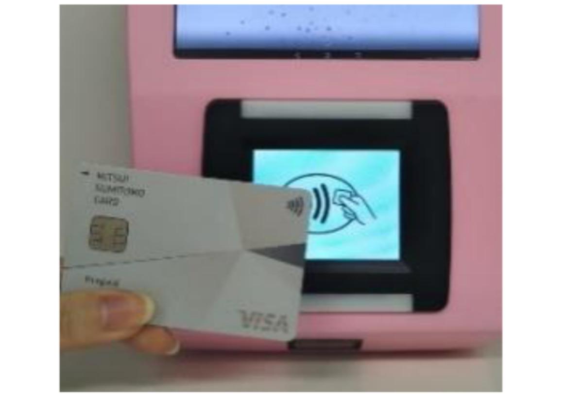ニュース画像 1枚目:Visaのタッチ決済 読み取り端末イメージ