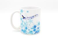 スカイマーク、オリジナルマグカップ第1弾「winter」発売 の画像
