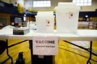ニュース画像:岩国航空基地、モデルナ社のコロナ・ワクチン接種を開始